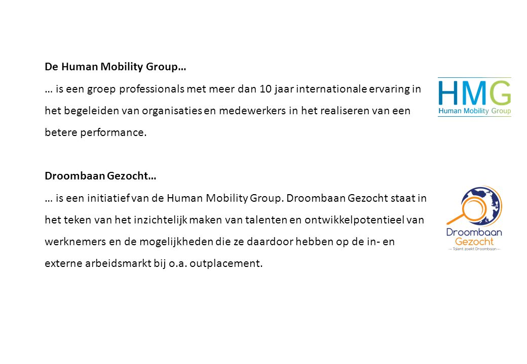 De Human Mobility Group…