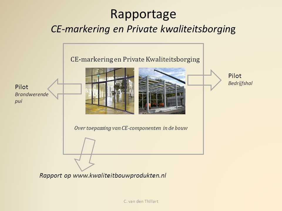Rapportage CE-markering en Private kwaliteitsborging