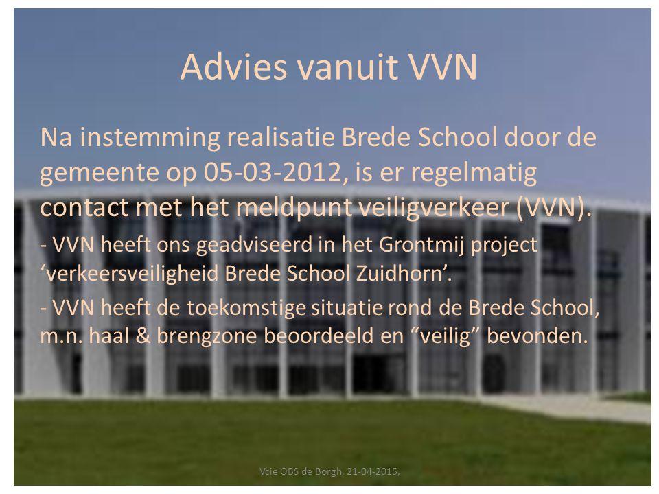 Advies vanuit VVN
