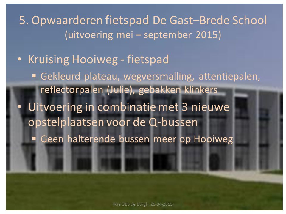 Kruising Hooiweg - fietspad