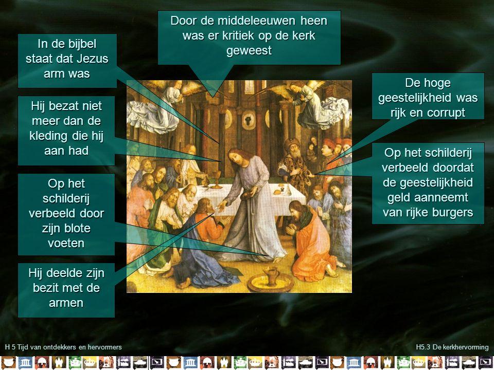 Door de middeleeuwen heen was er kritiek op de kerk geweest