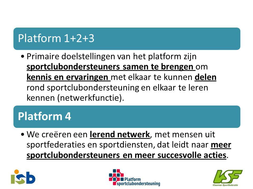 Platform 1+2+3