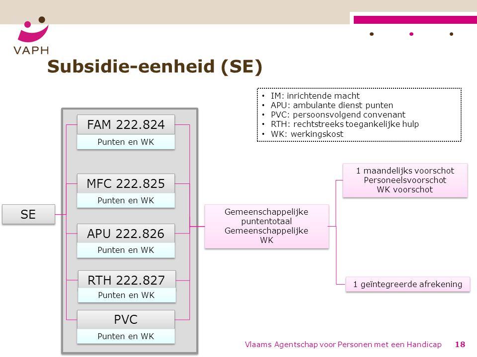 Subsidie-eenheid (SE)