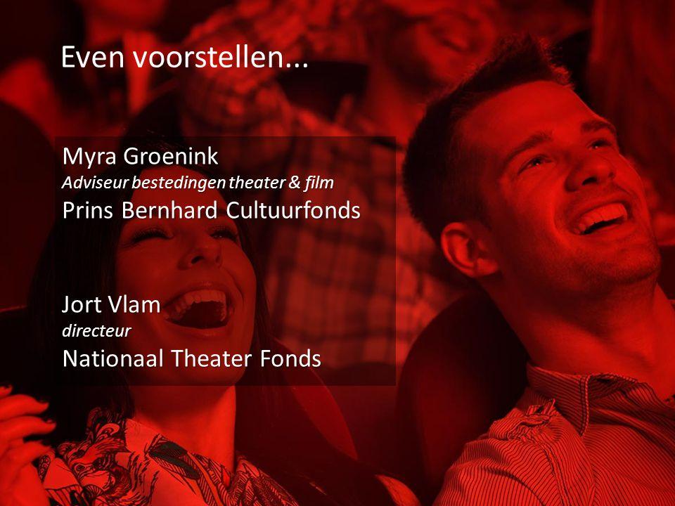 Even voorstellen... Myra Groenink Prins Bernhard Cultuurfonds