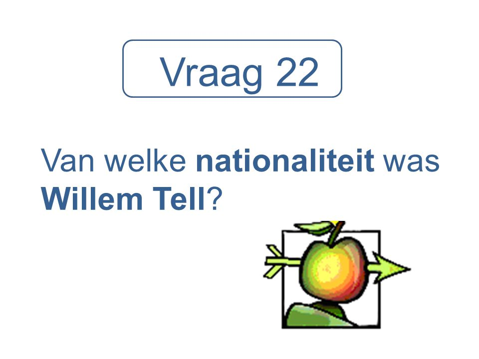 Van welke nationaliteit was Willem Tell