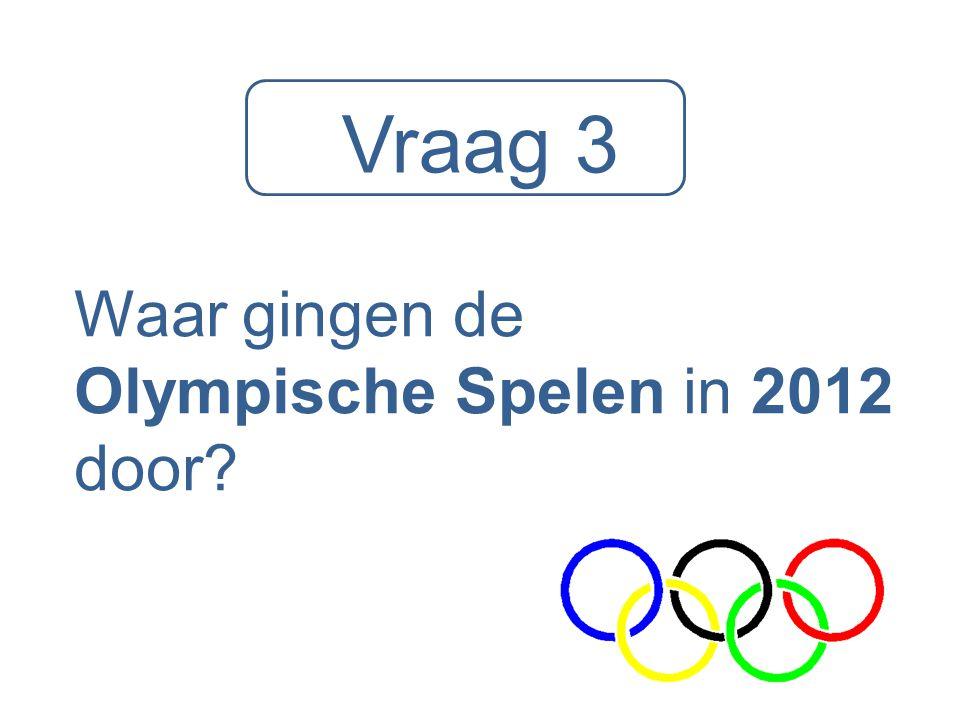 Waar gingen de Olympische Spelen in 2012 door