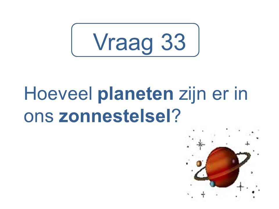 Hoeveel planeten zijn er in ons zonnestelsel