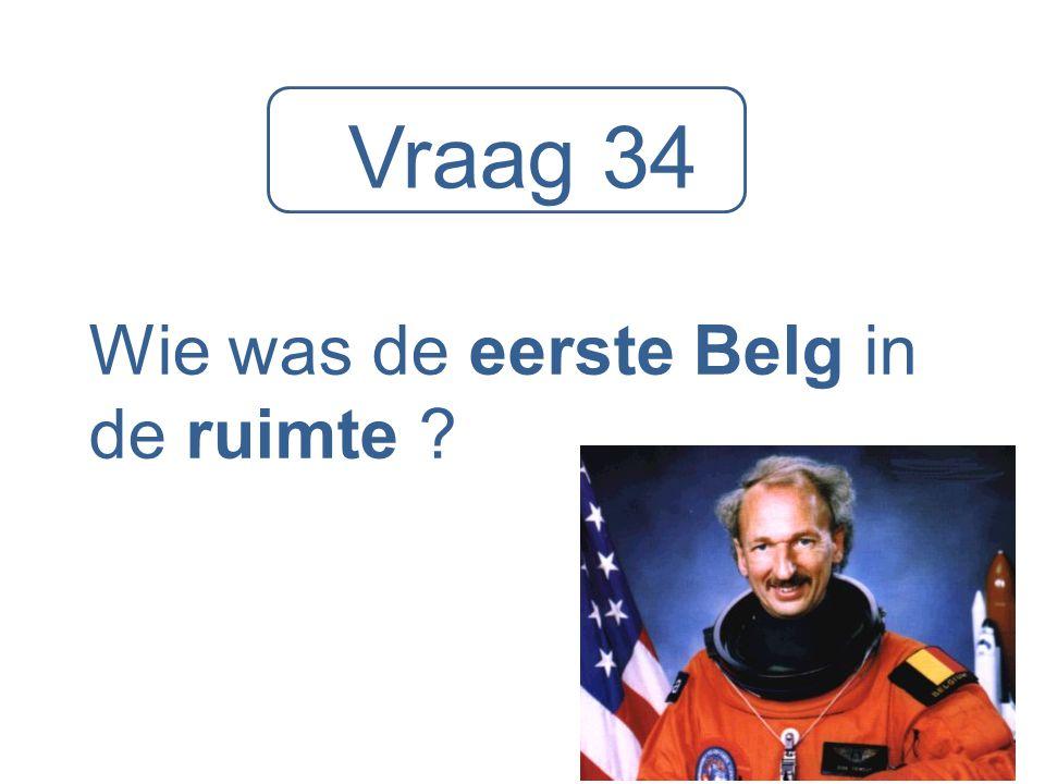 Wie was de eerste Belg in de ruimte