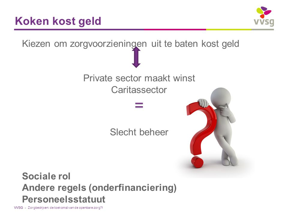 Private sector maakt winst