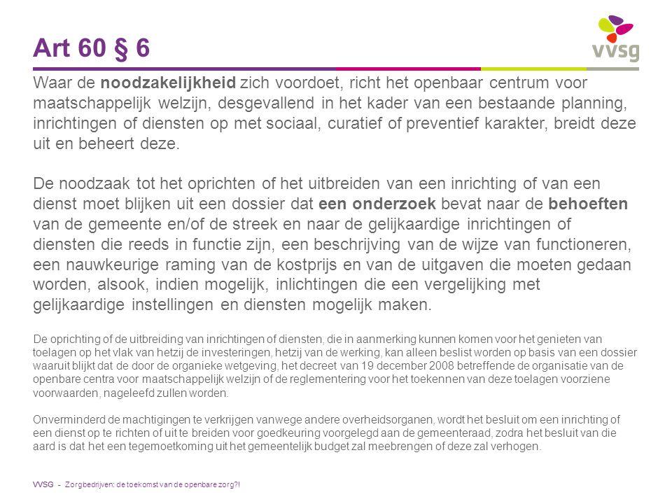 Art 60 § 6