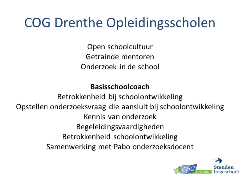 COG Drenthe Opleidingsscholen