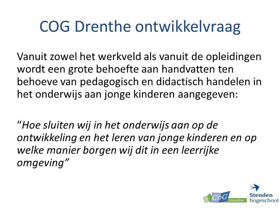 COG Drenthe ontwikkelvraag