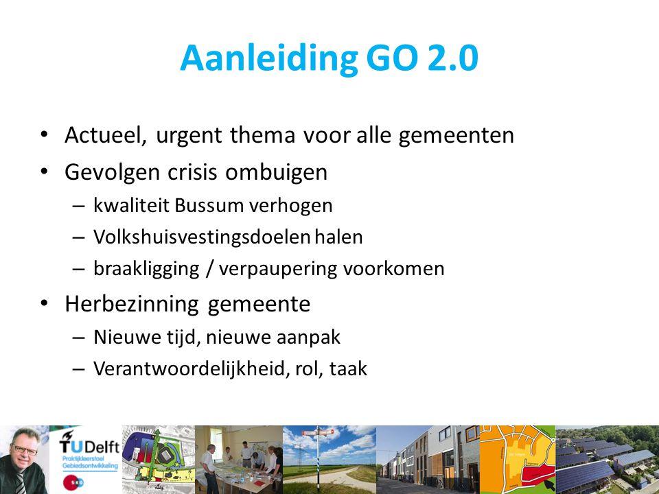 Aanleiding GO 2.0 Actueel, urgent thema voor alle gemeenten