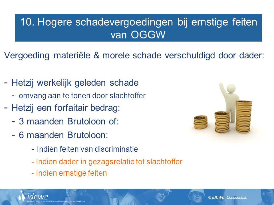 10. Hogere schadevergoedingen bij ernstige feiten van OGGW