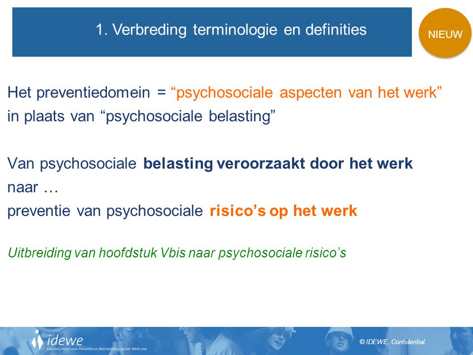 1. Verbreding terminologie en definities