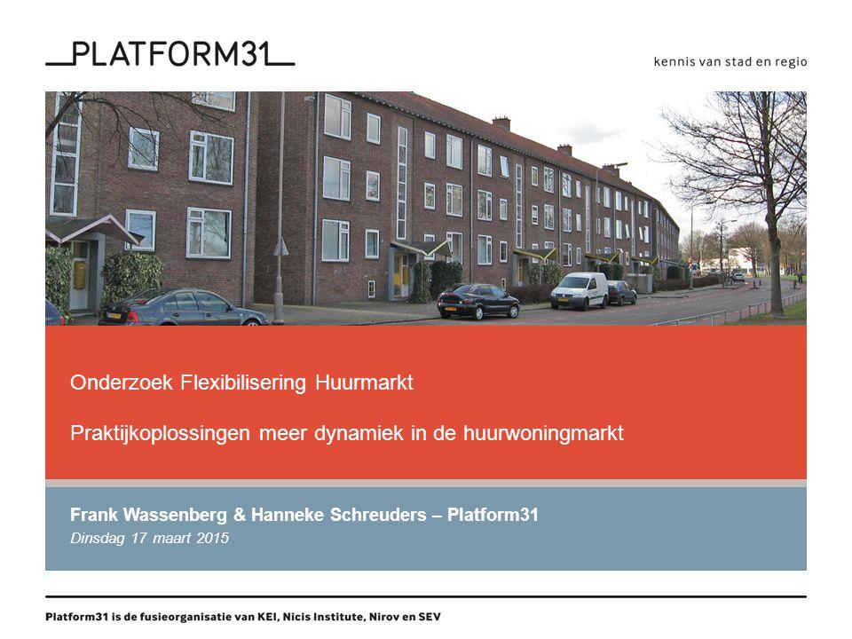Frank Wassenberg & Hanneke Schreuders – Platform31