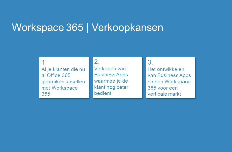 Workspace 365 | Verkoopkansen