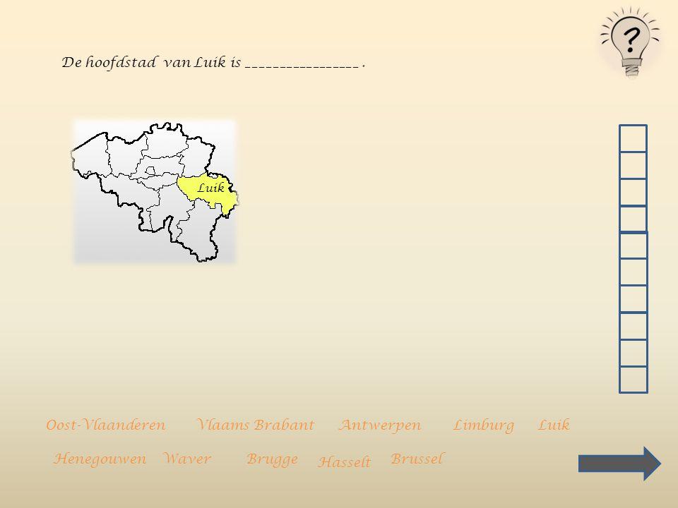 De hoofdstad van Luik is _________________ .