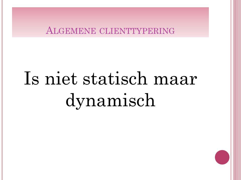 Algemene clienttypering