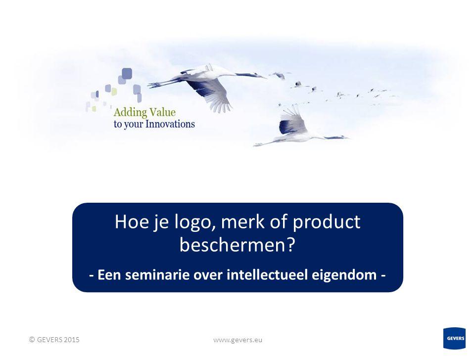 - Een seminarie over intellectueel eigendom -
