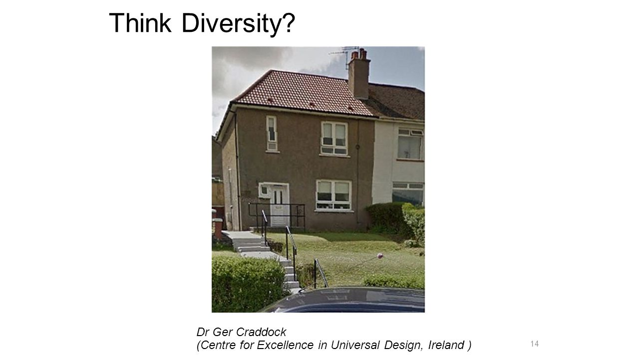 Think Diversity Dr Ger Craddock