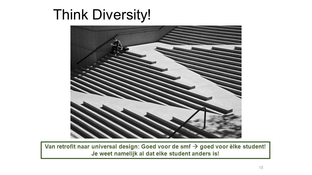Je weet namelijk al dat elke student anders is!