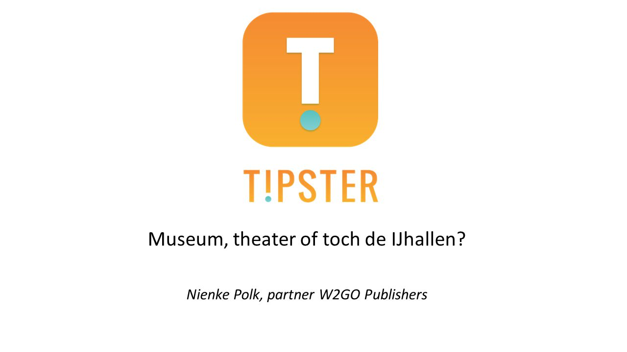 Museum, theater of toch de IJhallen
