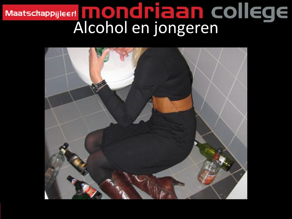 Alcohol en jongeren