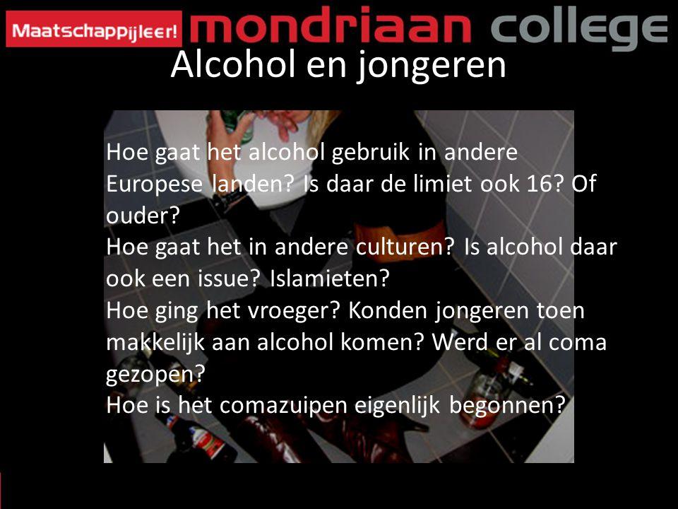 Alcohol en jongeren Hoe gaat het alcohol gebruik in andere Europese landen Is daar de limiet ook 16 Of ouder