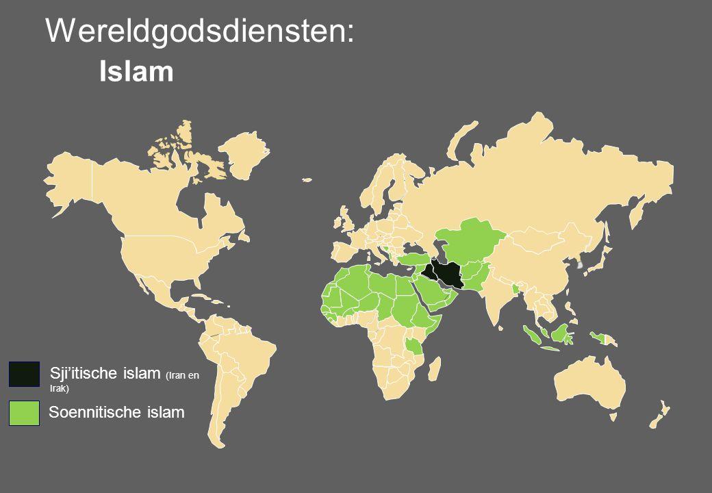 Wereldgodsdiensten: Islam Sji'itische islam (Iran en Irak)