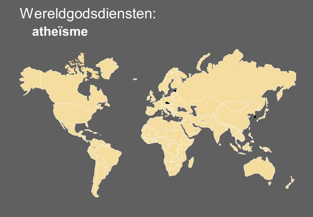 Wereldgodsdiensten: atheïsme 13