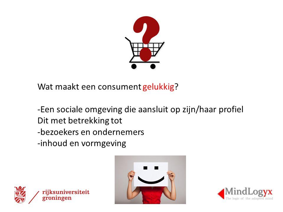 Wat maakt een consument gelukkig
