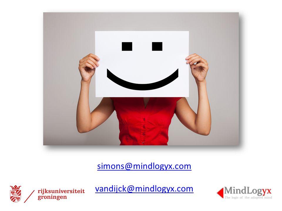 simons@mindlogyx.com vandijck@mindlogyx.com