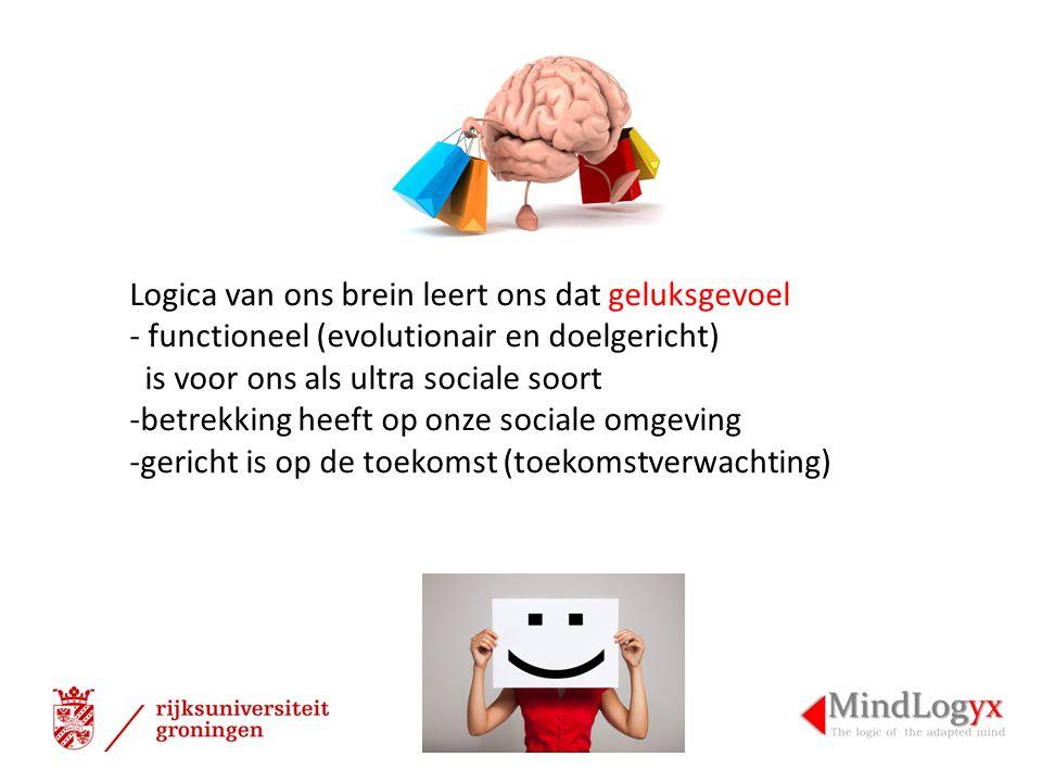 Logica van ons brein leert ons dat geluksgevoel