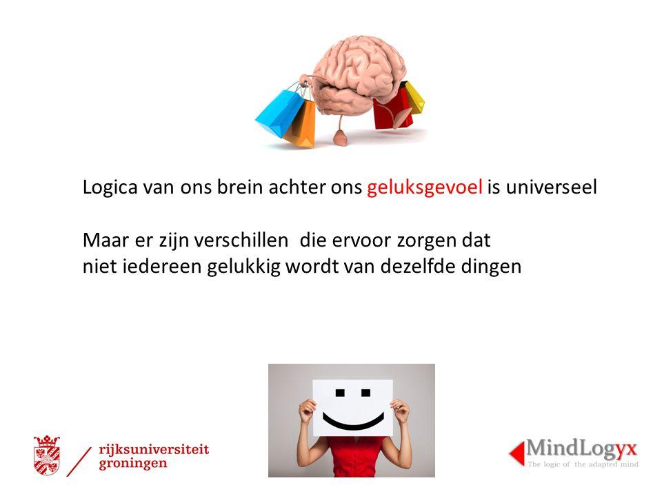 Logica van ons brein achter ons geluksgevoel is universeel