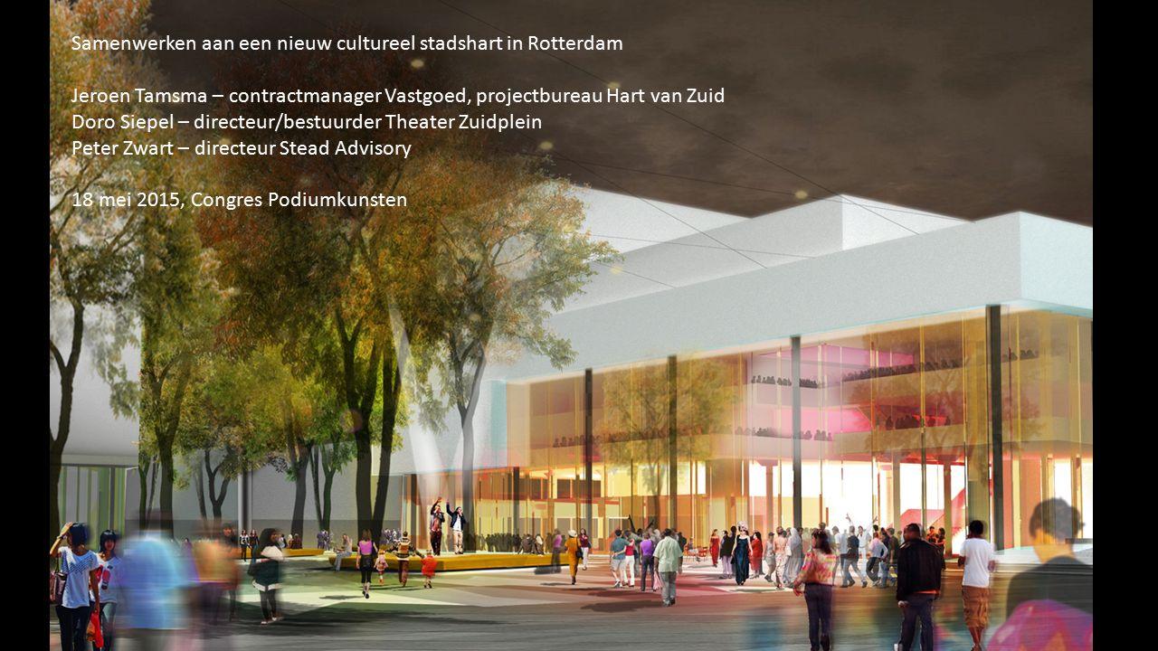 Samenwerken aan een nieuw cultureel stadshart in Rotterdam