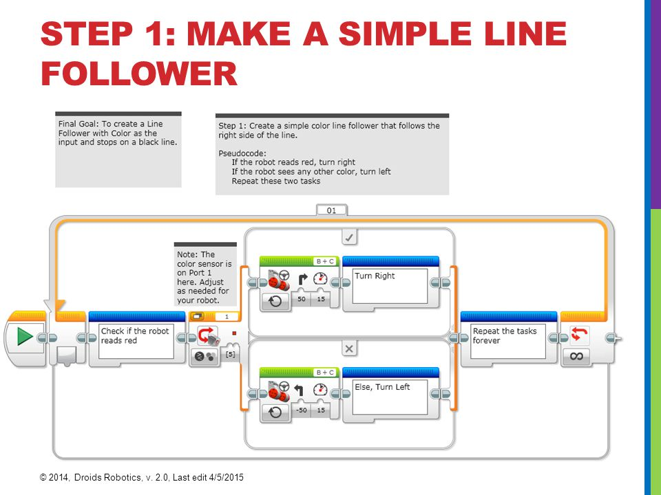 STEP 1: MAKE A SIMPLE LINE FOLLOWER