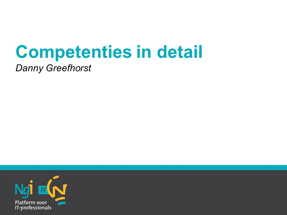 Competenties in detail
