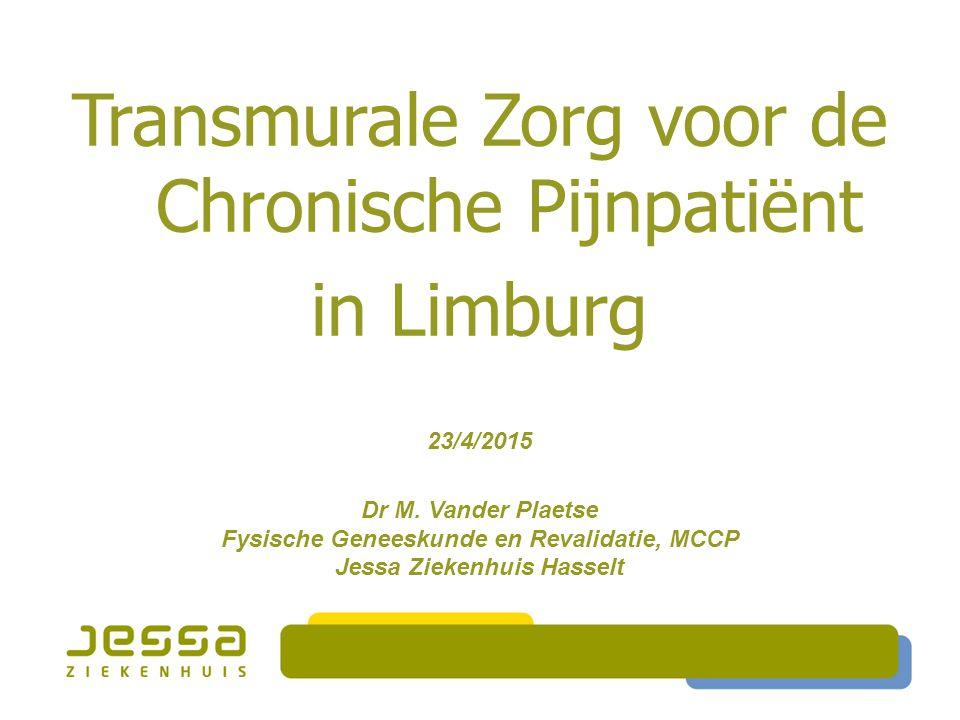 Fysische Geneeskunde en Revalidatie, MCCP Jessa Ziekenhuis Hasselt