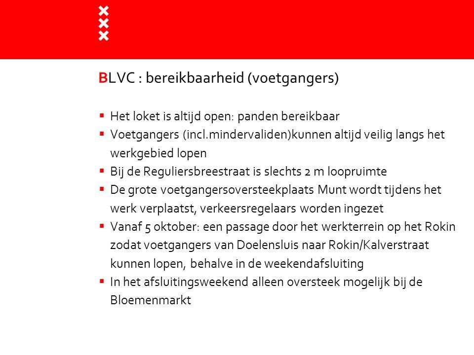 BLVC : bereikbaarheid (voetgangers)
