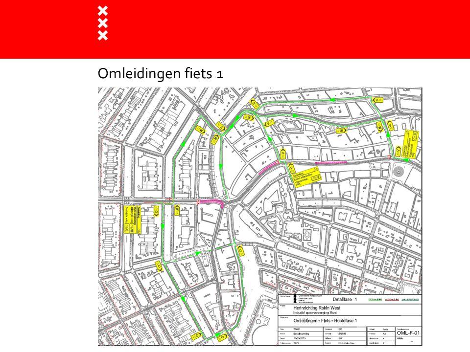 Omleidingen fiets 1 Titel presentatie
