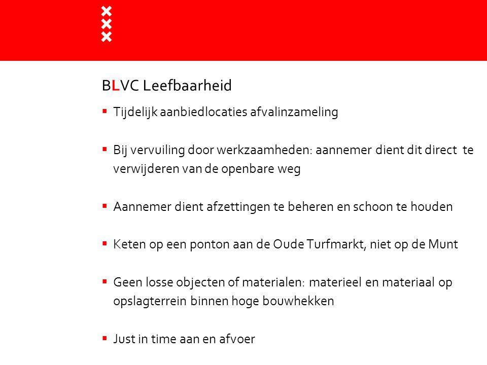 BLVC Leefbaarheid Tijdelijk aanbiedlocaties afvalinzameling