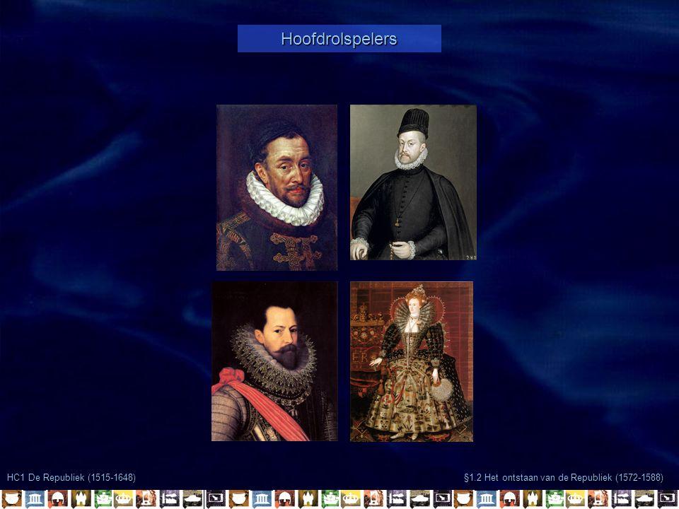 Hoofdrolspelers HC1 De Republiek (1515-1648)
