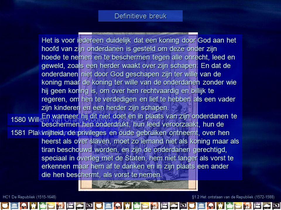 1580 Willem van Oranje vogelvrij
