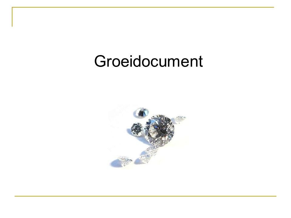 Groeidocument