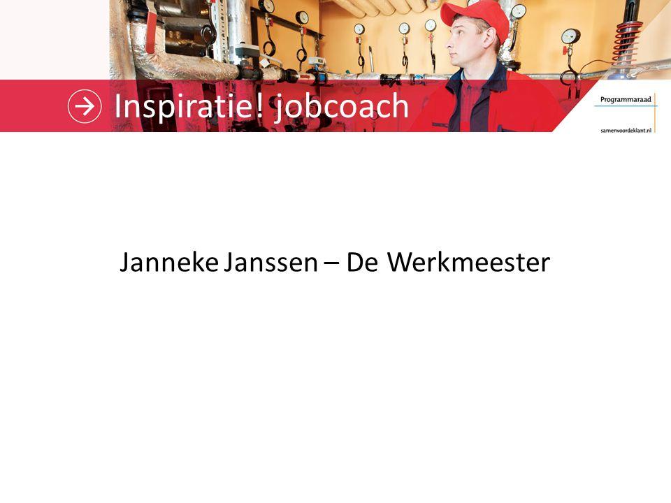 Janneke Janssen – De Werkmeester