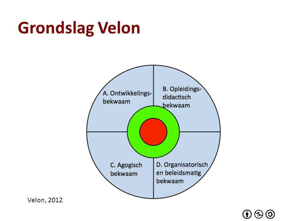 Grondslag Velon Velon, 2012