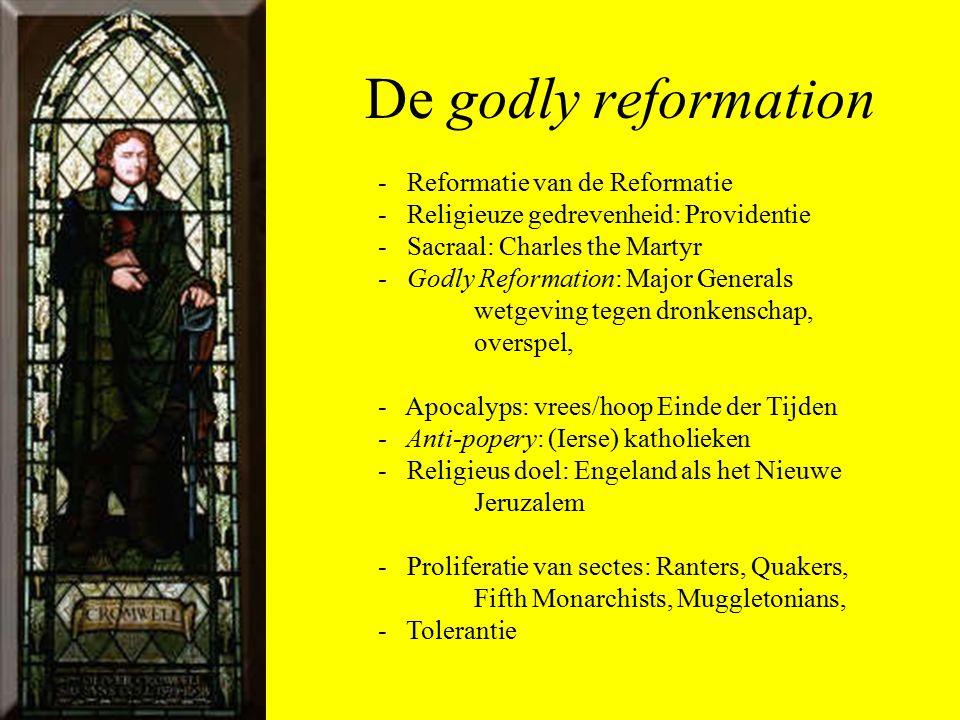 De godly reformation - Reformatie van de Reformatie