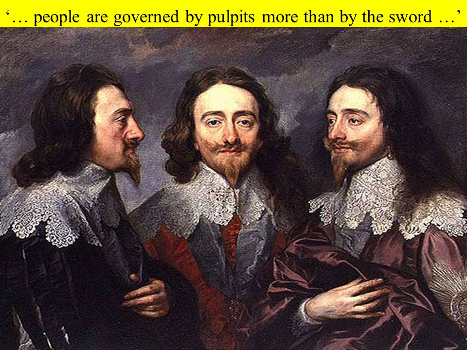 '… people are governed by pulpits more than by the sword …'