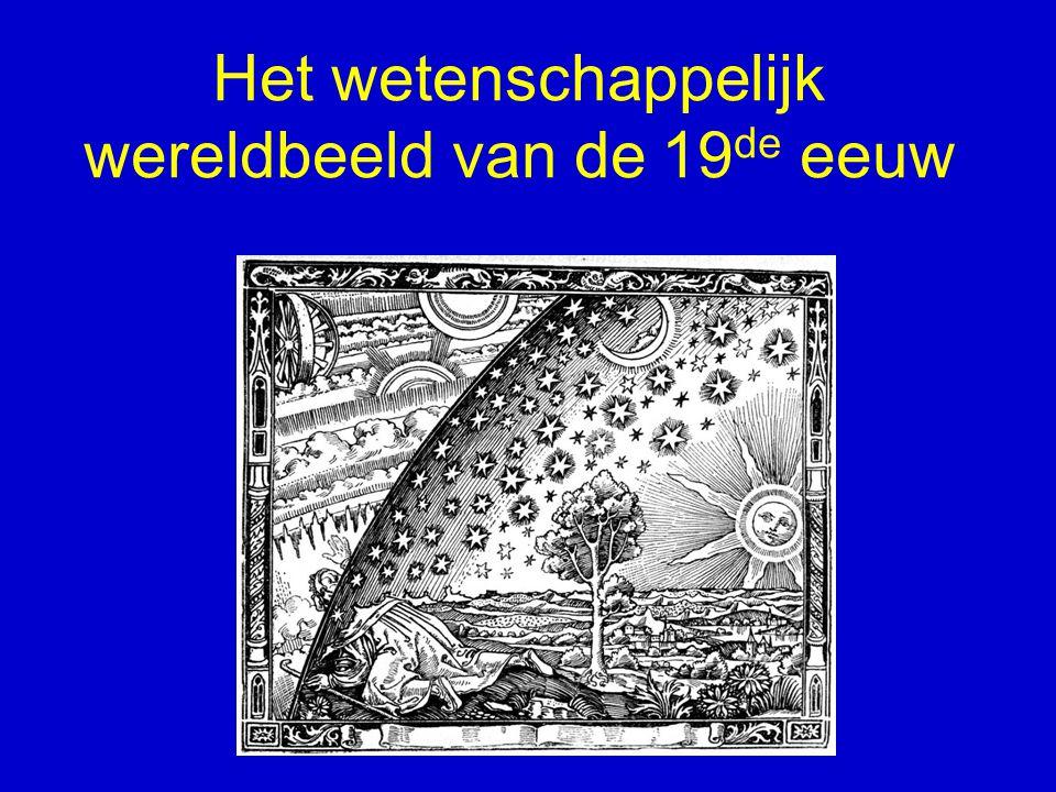 Het wetenschappelijk wereldbeeld van de 19de eeuw